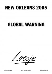 new orleans 2005 global warning