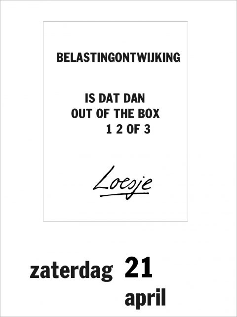 Belastingontwijking Is dat dan out of the box 1 2 of 3
