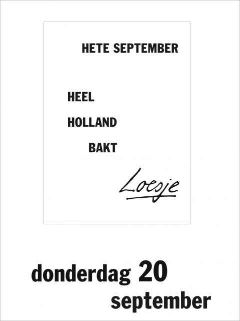 Hete september Heel Holland bakt