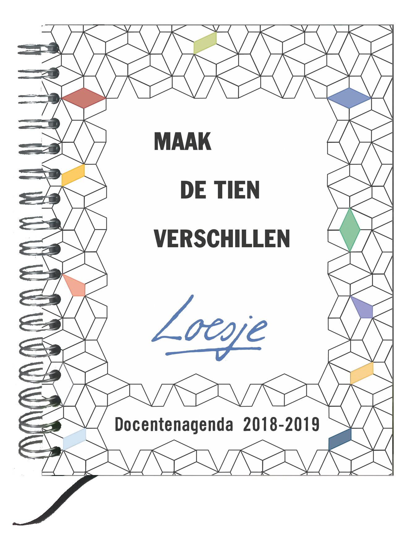 Genoeg Loesje docentenagenda / lerarenagenda 2018-2019 @VO85